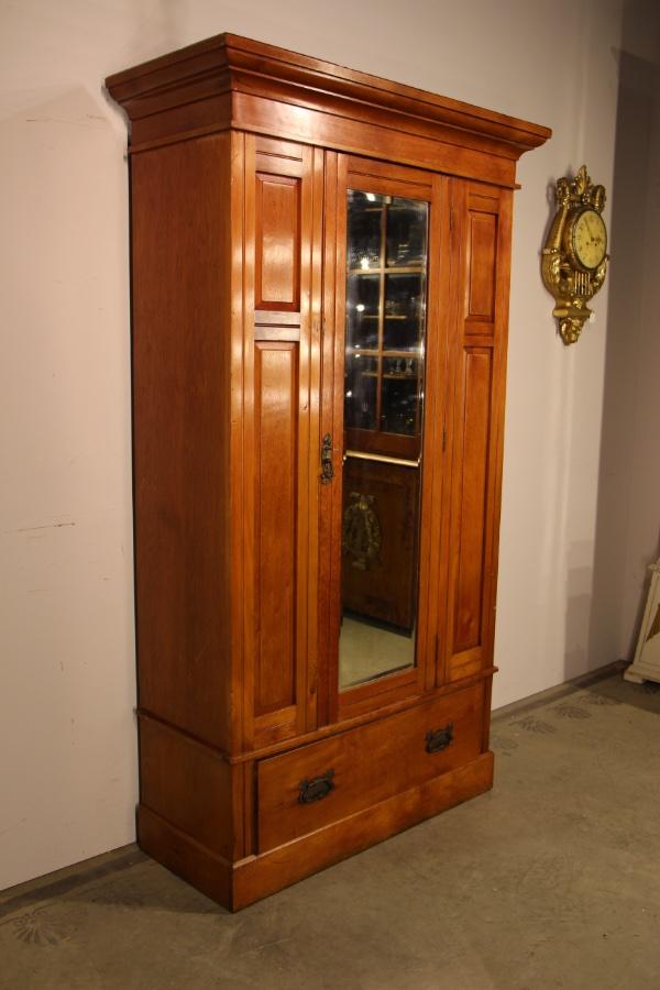 rare huon pine armoire wardrobe. Black Bedroom Furniture Sets. Home Design Ideas