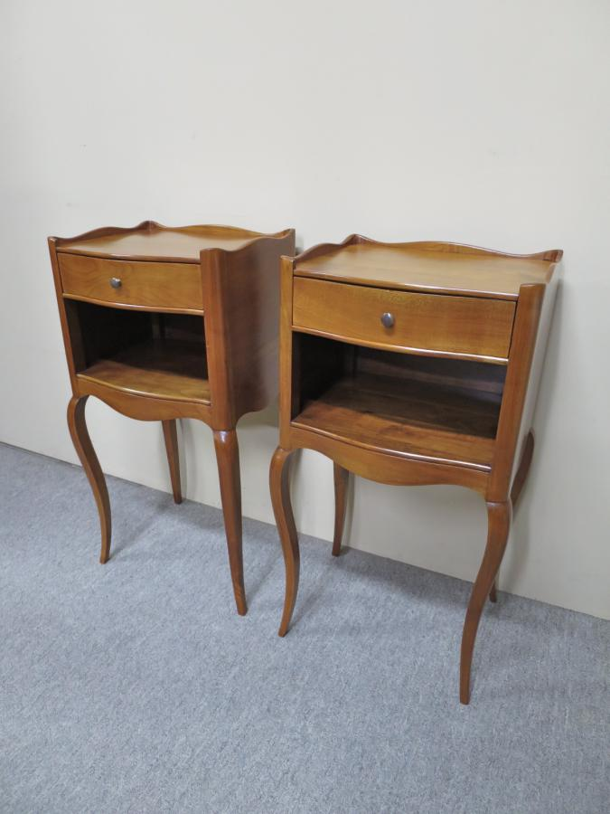 Old Bedside Table: Buy Vintage Cherry Wood Bedside Tables From Nostalgia Antiques