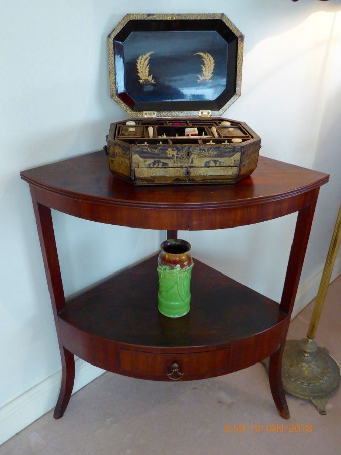 Buy A Rare Cedar Corner Washstand C1810 From Colonial