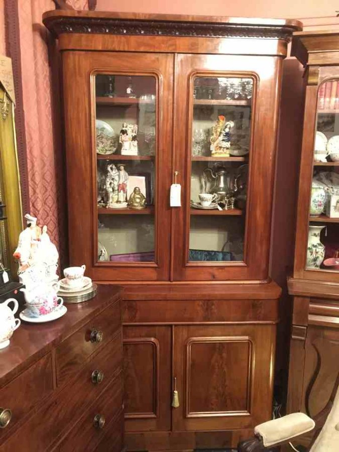 Buy Antique Mahogany Bookcase Circa 1860 From The Old Post Office Antiques