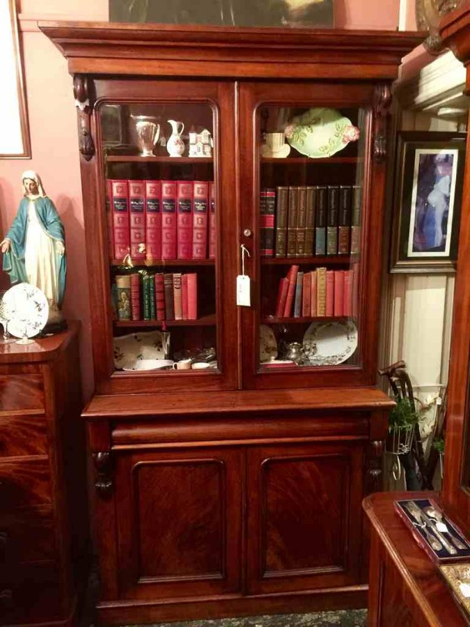 Buy Australian Colonial Cedar Bookcase From The Old Post Office Antiques