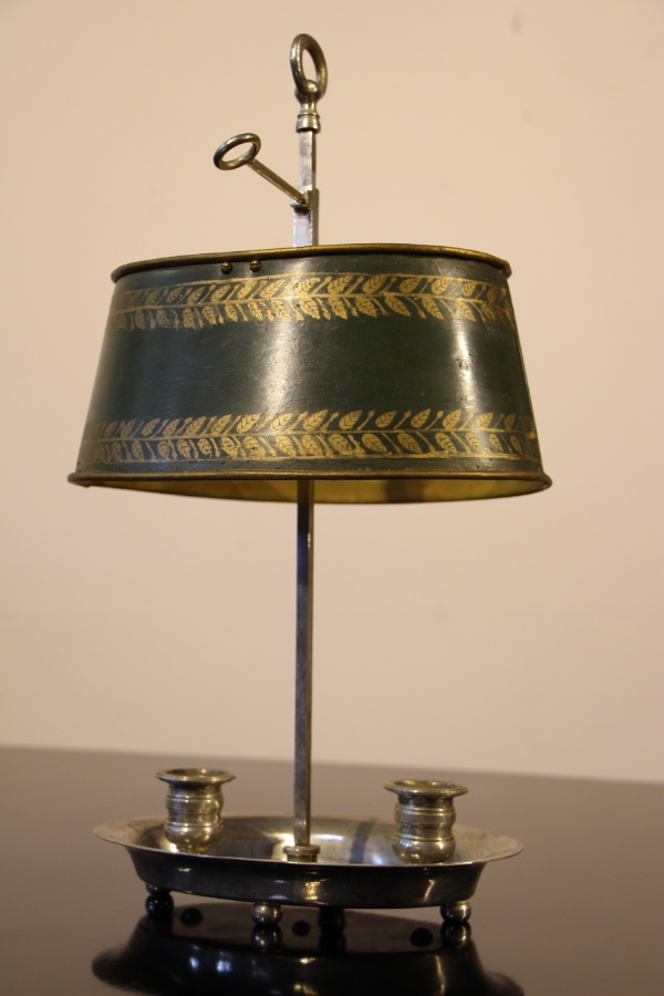 Buy French Silvered Bronze Bouillotte Lamp Plus Other