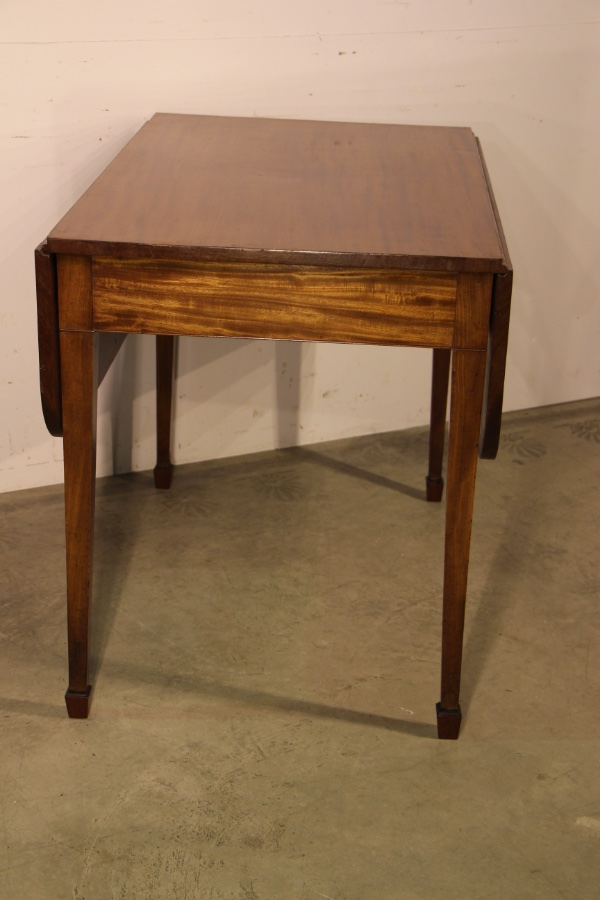 Buy Mahogany Extension Dining Table Regency From Antiques