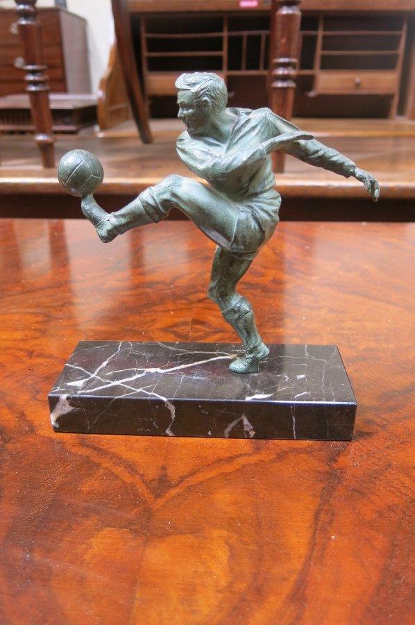 Buy Art Deco Style Football Figure From Brunswick Street