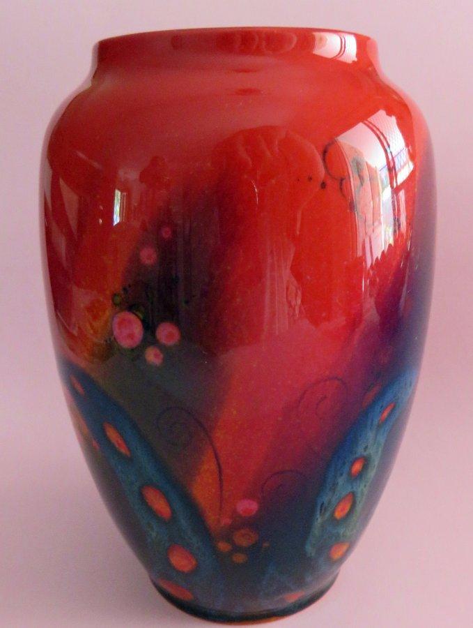 Buy Royal Doulton Sung Vase Bird Of Paradise From Yande