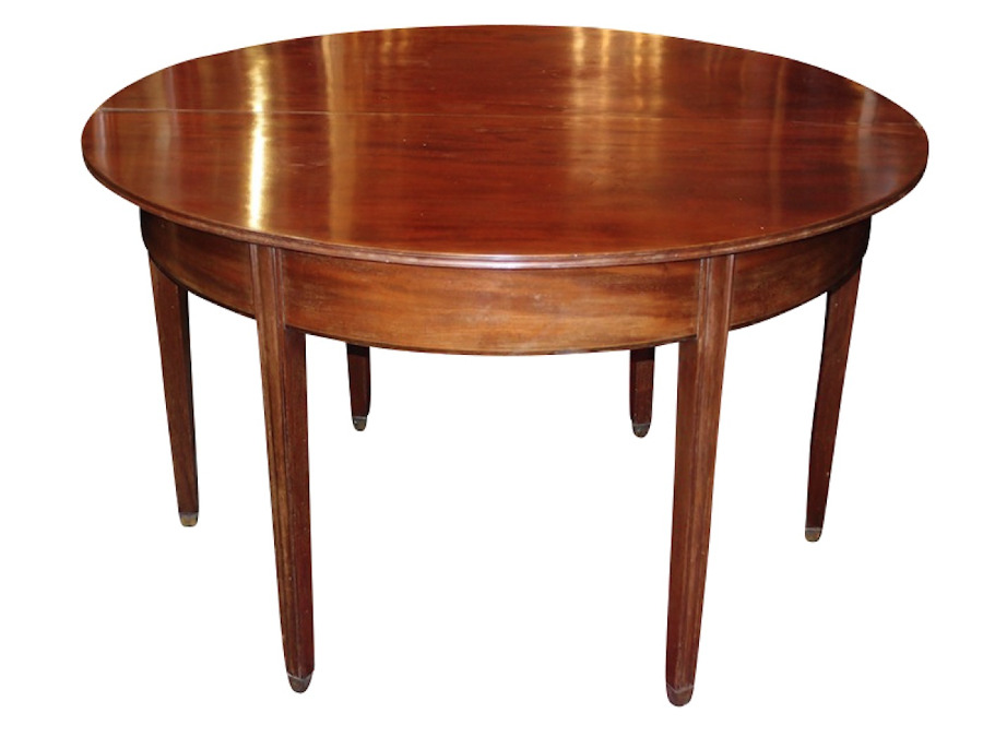 Buy C1810 Georgian 6 Seat Dining Table From Roy S Antiques