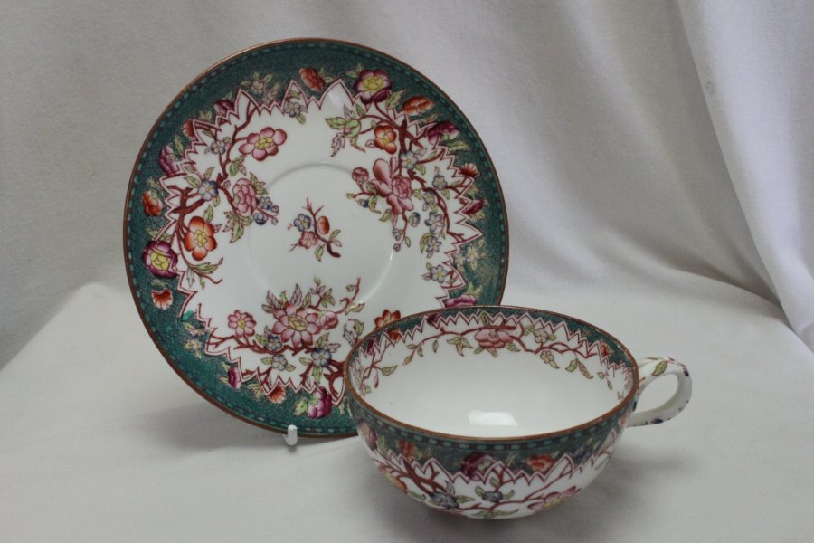 Buy Sarreguemines Hand Coloured Cup Amp Saucer From China