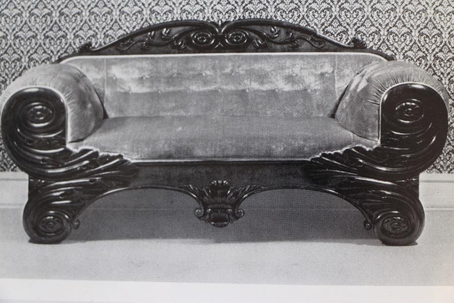 Buy Rare Schinkel Giltwood Biedermeier Sofa From Antiques