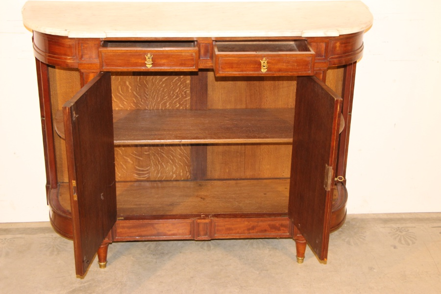 Buy French Directoire Sideboard Marble Top From Antiques