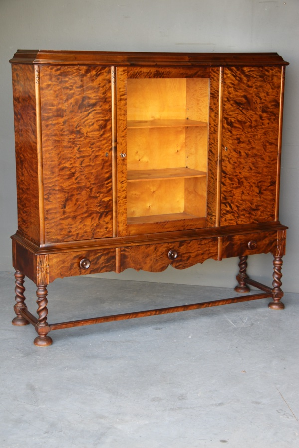 Buy Art Deco birch bookcase 1920's Sweden from Antiques ...
