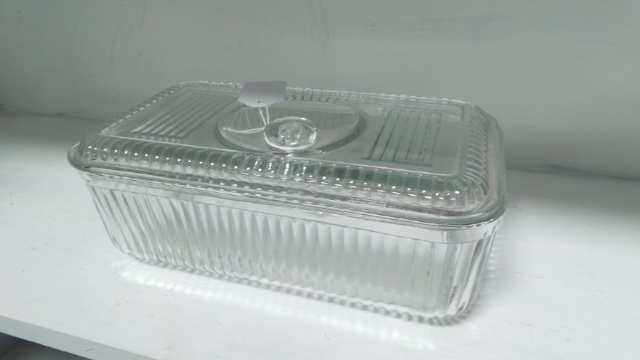 Buy Vintage Glass Storage Container From Moonee Ponds Antiques
