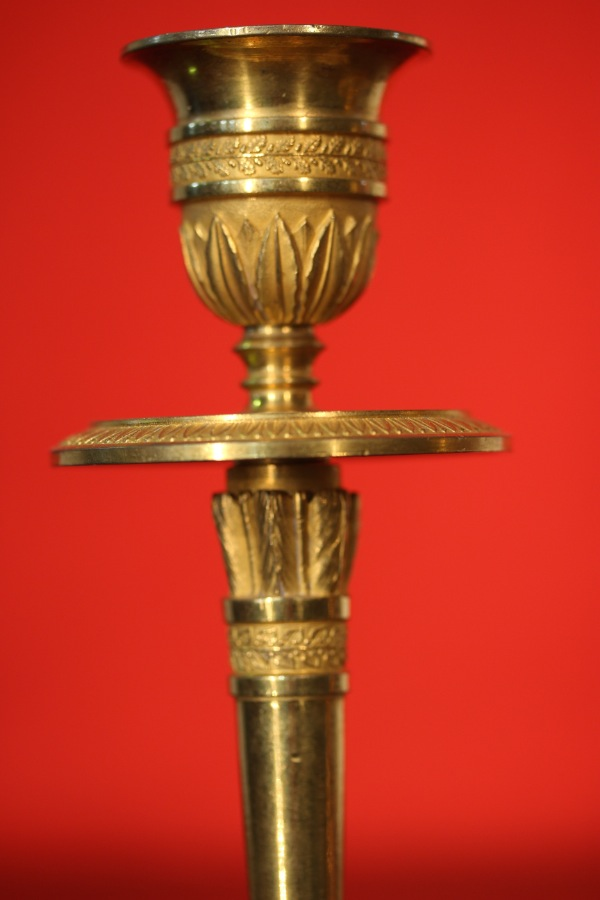 Buy French Louis Gilt Ormolu Candlesticks From Antiques
