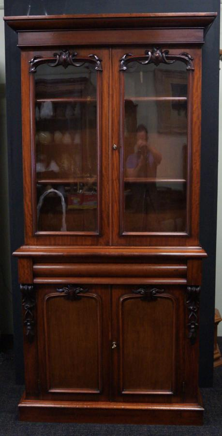 Buy Victorian Mahogany Bookcase From Seanic Antiques
