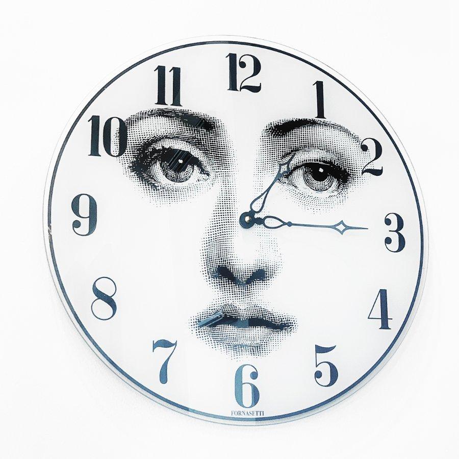 Buy Mid Century Fornasetti Wall Clock From Artedeco