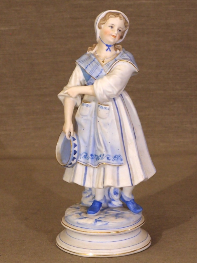 Buy Bisque Porcelain Female Figure From Roy S Antiques Pty Ltd